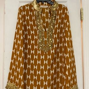 NWT TORY BURCH EMBELLISHED TUNIC